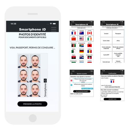 Processus de commande smartphone iD